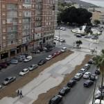 Vista de la avenida, sin obras desde hace un mes :: J. M. R. / AGM