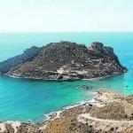 La Isla del Fraile y la Punta del Cigarro, separados por un istmo de apenas cuarenta metros. :: LA VERDAD