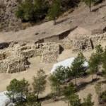 Una imagen de la fortaleza hallada en La Bastida, Murcia. / UAB