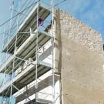 La torre Rojano en plena restauración. Foto: Sonia M. Lario