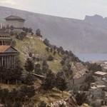 Recreación infográfica de Carthago Nova