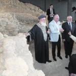 Visita del Gran Rabino Sefardí de Israel a la sinagoga en mayo del año pasado. :: SONIA M. LARIO / AGM
